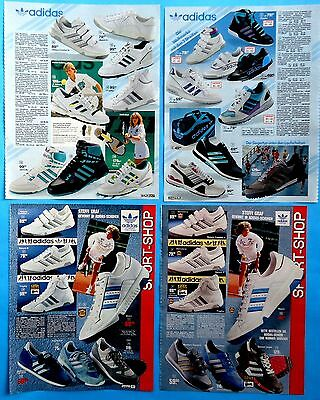 Adidas shoes  Ad Print Catalog  Clippings 36  pages