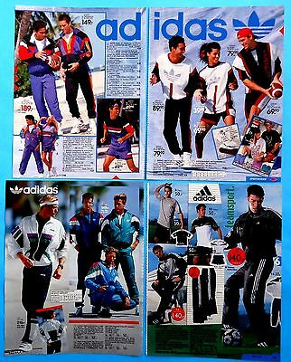 Adidas clothes  Ad Print Catalog  Clippings 44  pages