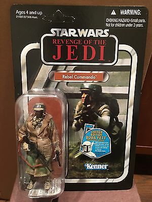 STAR WARS VINTAGE COLLECTION - ROTJ - VC26 - Rebel Commando Version 2- MOC