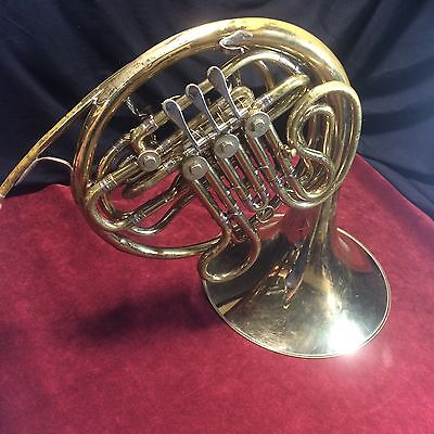 Vintage King (1159?)Professional Double French Horn with Case