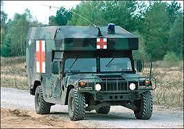 humvee,   M997A1 Ambulance no conversion or FULL Conversion or Shell