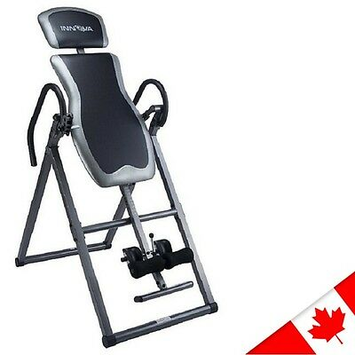 Innova ITX9600 Heavy Duty Fitness Inversion Therapy Exercise Table Back Relief