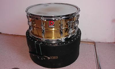 Premier Brass Snare Drum and Le Blond Case.