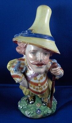 18thC Staffordshire Pearlware Grotesque Dwarf Figurine Figure Figur English