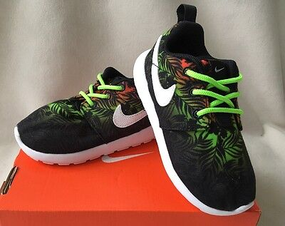 NIKE ROSHERUN PRINT (PS/TD) SIZE 7C Baby Toddler Shoes Sneakers 677783 800 NEW