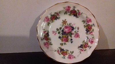 Fenton China Company Floral Plate