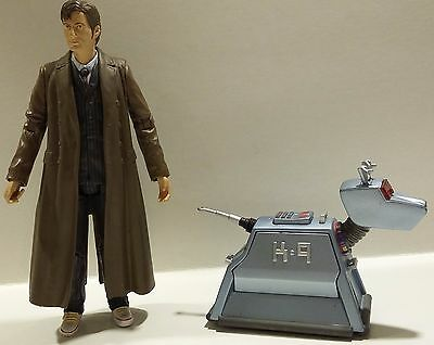"""Dr Who 5"""" action figures 10th Doctor and K9 -Series 2"""