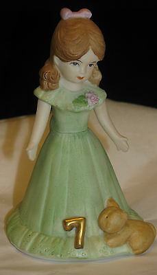 ENESCO Growing Up Birthday Girl – Age 7 - Brunette Excellent Cond., no box