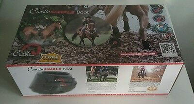 Cavallo boots, size 5, wraps and new gel inserts