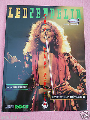 Led Zeppelin book with pictures photos mini poster + FREE AIRMAIL WORLDWIDE
