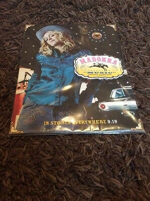 MADONNA -  Music - Rare UK - Standee - Mint And Sealed!