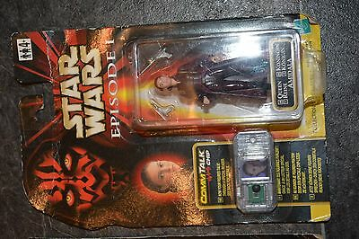 Star Wars Episode I Queen Amidala Sealed on Card