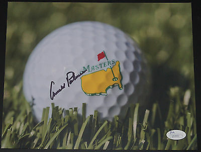 Arnold Palmer Masters 8X10 Photograph Picture Jsa Certified Autograph Signed