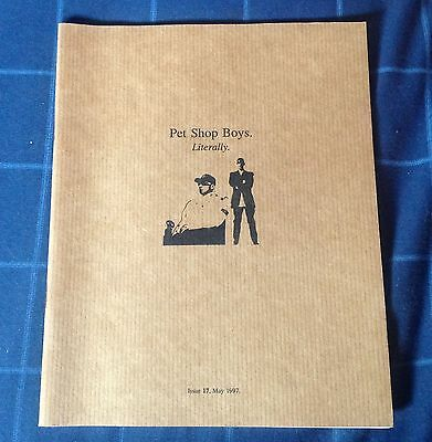 Pet Shop Boys Literally Official Fanclub Magazine Issue 17