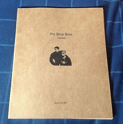 Pet Shop Boys Literally Official Fanclub Magazine Issue 1