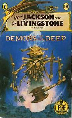Demons of the Deep (Puffin Adventure Gamebooks),Steve Jackson