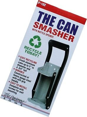 The Can Smasher - Aluminum Can Crusher Recycler - Ships Free