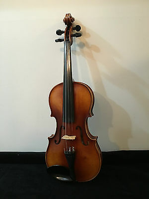 Vintage Stradivarius Copy Hand Crafted Faciebat Cremona/ Violin W. Germany