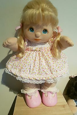 My Child Doll ~ Original Vintage Outfit ~ Girls PiNK PaRTY Dress Set + Ribbons!!
