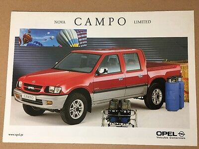 Car Brochure - 2000 Opel Campo Limited - Portugal