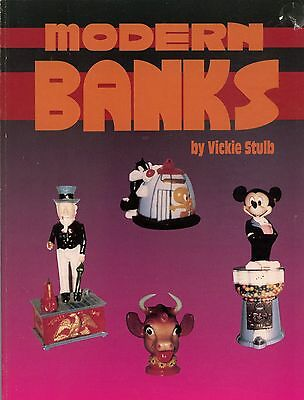 Modern Toy Character Banks - Types Makers Dates / Scarce Book