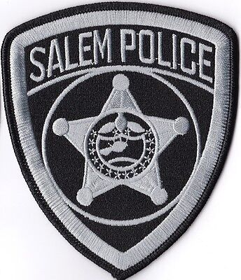 Salem Police Orgeon subdued OREGON patch NEW