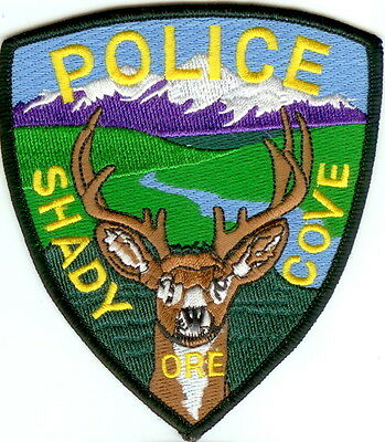 Shady Cove Police OREGON patch NEW