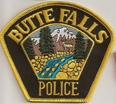 Butte Falls Police OREGON patch NEW
