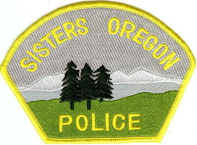Sisters Police  OREGON patch NEW