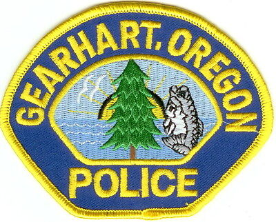 Gearhart Police OREGON patch NEW