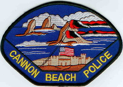 Cannon Beach Police OREGON patch NEW