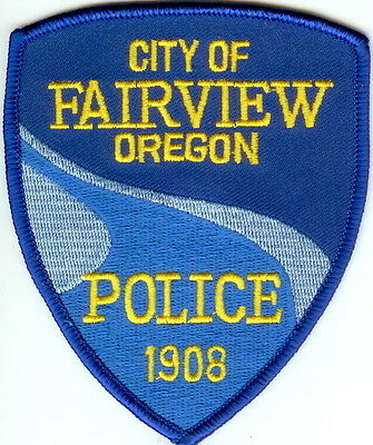 City of Fairview Police  OREGON patch NEW