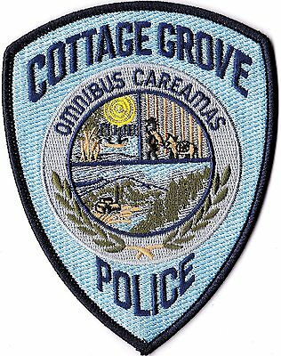 Cottage Grove Police OREGON patch NEW