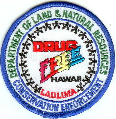 Department of Land & Natural Resorces Hawaii HI Police Patch NEW
