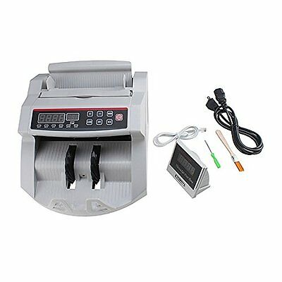 Professional Money Bill Counter UV Currency Cash Counting Machine Bank Sorter