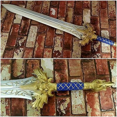 FULL SIZE WoW WarCraft Lionheart Llane Alliance Sword Foam CosPlay Larp Arthas
