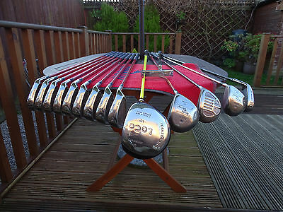 Golf Clubs Full Set Regal Wild Thing O/S Irons 3-SW + Drivers + Woods + Bag +