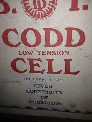 Low Tension Cell. Accumulator.British Insulated Cables Ltd.C1925