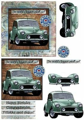 Morris Minor - The worlds Biggest small car! by Bodil Lundahl