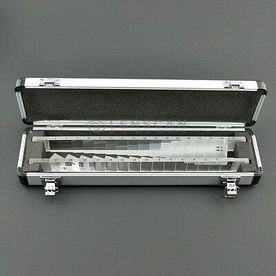 High Quality Horizontal and Vertical Prism Bar Set - Optometry Prism Bar Set