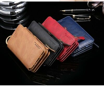 Luxury Floveme Wallet Card Slots Leather Case For iPhone 5s/se/6s/6s+/7/7 plus