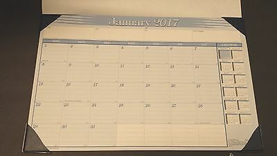 "2017 DESK PAD CALENDAR MONTHLY DESK BLOTTER 11"" x 17"""