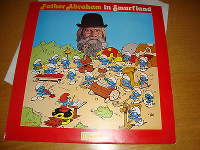 Father Abraham And The Smurfs 'in Smurfland '- Lp 1978 Decca Uk