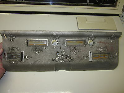 National 367.2.2 Cash Register Inside Counter Panel With Glass And Labels