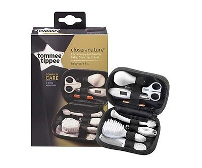 New Tommee Closer to Nature Healathcare & Grooming Kit Set Case Essentials