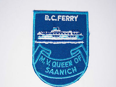 Vintage B.C. Ferry Travel Patch