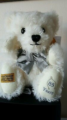 Merrythought limited edition 85th birthday teddy bear only 30 ever produced.