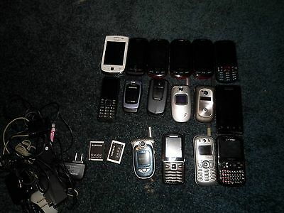 Cell Phone Lot (Scrap Gold Recovery)