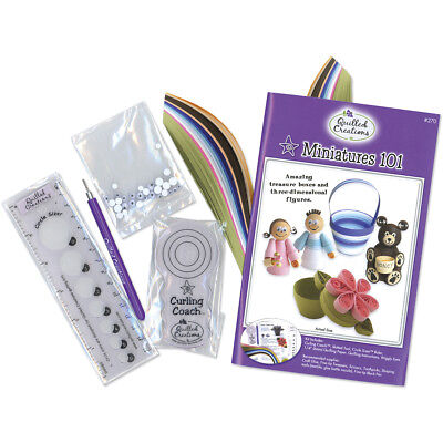 Quilled Creations Quilling Kit - Miniatures 101