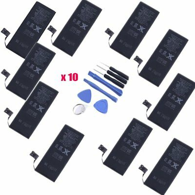 Lot of 10 New 1440mAh 3.8V Replacement Internal Battery For Apple iPhone 5 5G BP